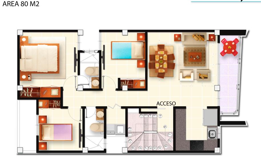 Apartamento – Código 665-1672